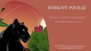 DÁRKOVÝ POUKAZ osobní horoskop - jaguar